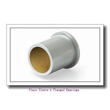 Oilite FF707-08 Plain Sleeve & Flanged Bearings