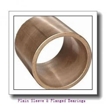 Oilite SOF611-02 Plain Sleeve & Flanged Bearings